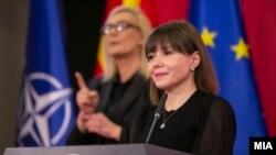 Министерката заобразование и наука, Мила Царовска