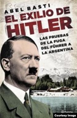 """Tarixçi Abel Bastinin """"Hitler sürgündə"""" kitabının üz qabığı"""