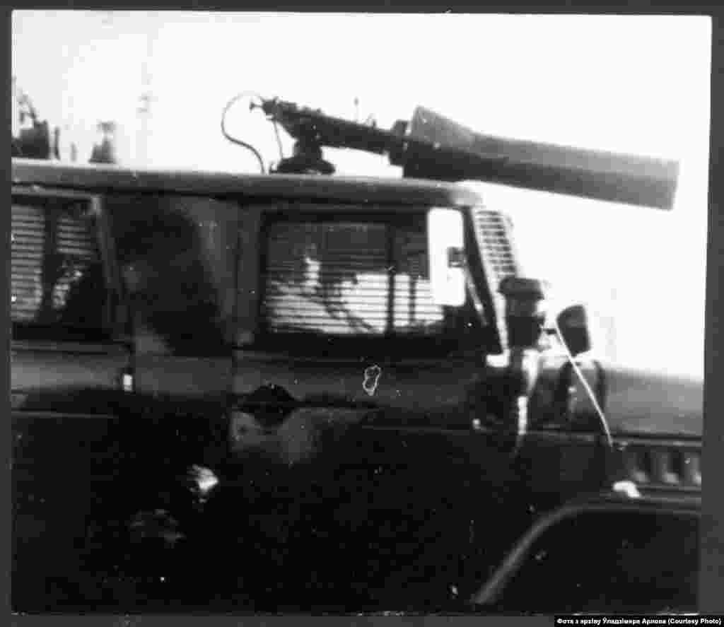 Вадамёты савецкага ўзору. Падчас разгону Дзядоў-88 не выкарыстоўваліся.