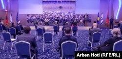Pamje nga ceremonia e 15 shtatorit në Prishtinë.