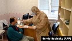 Kiyev yaxınlığında klinika, arxiv fotosu