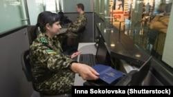 Украінская памежніца, ілюстрацыйнае фота