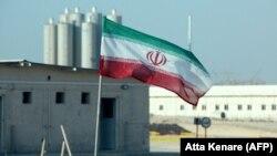 Az Irán déli részén lévő Bushehr atomerőmű 2019. november 10-én.