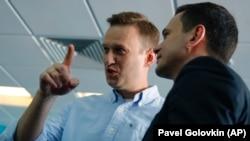 Алексей Навальный и Илья Яшин