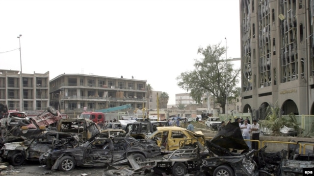 A bomb attack near the Justice Ministry building in central Baghdad on October 25 undelines the urgency of the law, observers say.