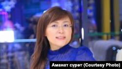 Айзада Акбекова.