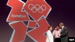 Фрагмент эмблемы Лондонской Олимпиады 2012 года