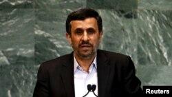 Presidenti i Iranit, Mahmud Ahmadinejad.