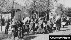 Evrei deportați spre Transnistria în cursul celui de-al doilea război mondial