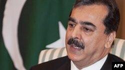 Pakistanın baş naziri Yousaf Raza Gilani