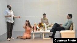 Пеги Пикит го гледа лицето на Бог, театарска претстава во Турски театар
