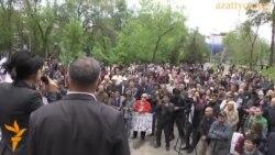 Митинг против инициатив правительства