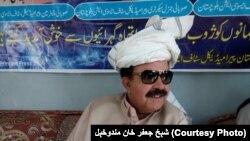 د بلوچستان ټرانسپورټ وزیر جعفر خان مندوخېل