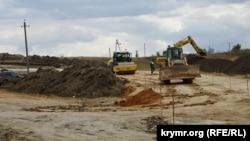 Строительство трассы «Таврида», архивное фото