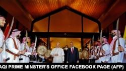 Рим папасы Францисктин Багдатта