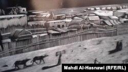 من أعمال الفنان سراج الناصري
