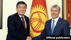 Сооронбай Жээнбеков жана Алмазбек Атамбаев