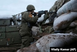 Kyiv is fighting an ongoing war against Russia-backed separatists in eastern Ukraine.