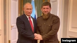 Путин Владимир а (аьрру агIорхьара), Кадыров Рамзан а