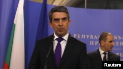 Бугарскиот претседателот Росен Плевнелиев