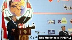 جانب من مؤتمر ضد الإرهاب في القاهرة