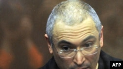 Mikhail Khodorkovsky was sentenced to six more years in prison in December.