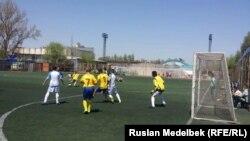 Первенство по футболу среди детей-сирот и учеников интернатов. Алматы, 25 апреля 2017 года.