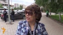 Астана после непогоды