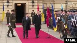 Президент Украины Владимир Зеленский и президент Турции Реджеп Эрдоган