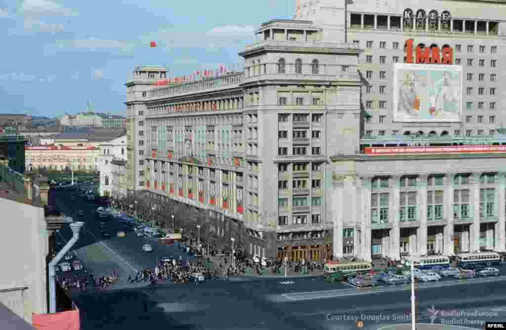 Отель «Москва» на Манежной площади