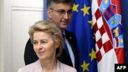 Președinta Comisiei Europene, Ursula von der Leyen în Croația