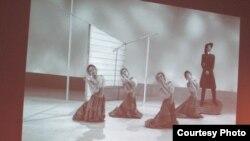 Сцена из балета Аппалачская весна