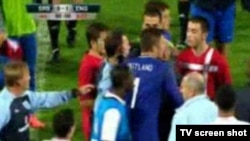 Fighting and alleged racist incidents marred the October 16 under-21 match between Serbia and England in Krusevac.