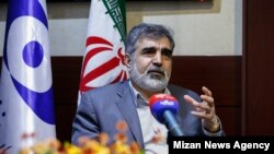 Spokesman of the Atomic Energy Organization of Iran, Behrouz Kamalvandi. File photo