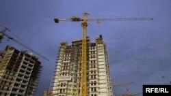 """Kompleks """"Belville"""", trenutno najveće gradilište u Srbiji, Foto: Vesna Anđić"""