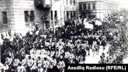 Türk ordusu Bakıda - 1918