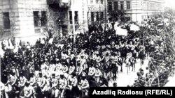 Qafqaz İslam Ordusu Bakıda. 1918
