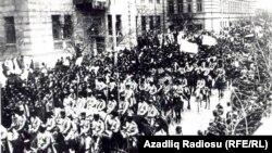 Türk İslam ordusu Bakıda. 1918