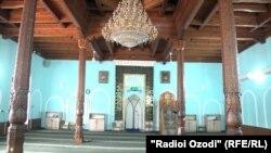 Мечеть в Душанбе, 26 января 2021 года