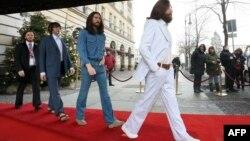 Beatles как восковые идолы. Берлин