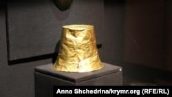 Київ, один з експонатів виставки «Крим: золото і таємниці Чорного моря»
