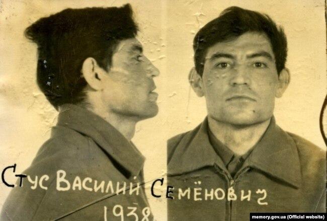 Василь Стус. Фото зроблене під час першого арешту, 1972 рік