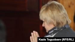 Наталья Вавилова, прихожанка буддийского храма. Алматы, апрель 2013 года.
