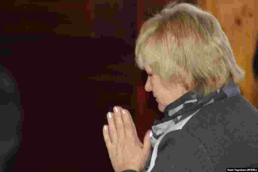Наталья Вавилова, прихожанка буддийского храма.