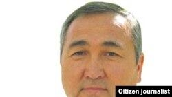 Эркин Булекбаев, лидер Партии зеленых Кыргызстана.
