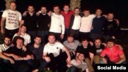 """Сагид Муртазалиев якобы с """"шараповскими"""", фото из соцсетей"""