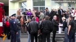 У Запоріжжі вимагали відставки генерала, якого пов'язують із «чистками» місцевого Майдану