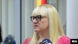 Министерката за правда Рената Дескоска.