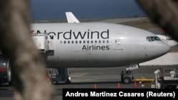 Avion na aerodromu u Karakasu