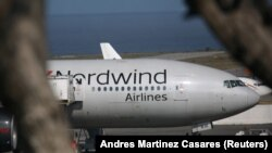 A Nordwind Airlines plane (file photo)